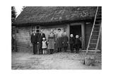 Bauernfamilie in Pommerellen, 1939 Impressão fotográfica por  Süddeutsche Zeitung Photo