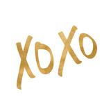 Romantic Icon I (gold foil) Poster
