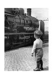 Dampflokomotive in Deuschland, 1936 Fotografie-Druck von Knorr Hirth Süddeutsche Zeitung Photo