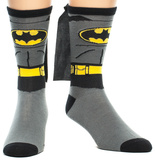 Batman - Suit Up Crew Sock with Cape Meias