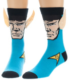 Star Trek - Spock Crew Sock with Ears Meias