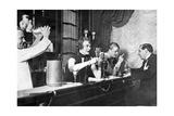 An der Bar, 20er Jahre Reproduction photographique par Scherl Süddeutsche Zeitung Photo