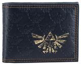 Zelda - All Over Emboss With Gold Foil Bi-Fold Wallet Wallet