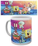 Spongebob - Group Mug Becher