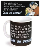 United Black Mug Taza