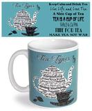 Type Tea Mug Becher