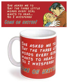United Red Mug Taza