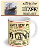 Titanic Mug Taza