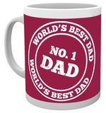 Father's Day - No 1 Dad Mug Krus