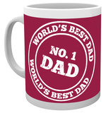 Father's Day - No 1 Dad Mug Becher