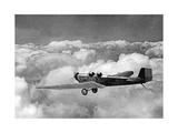 Eine Klemm L25A über den Wolken, 1930 Photographic Print by Scherl Süddeutsche Zeitung Photo