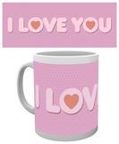 Valentines - I Love You Mug Mugg