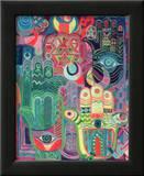 Hands as Amulets II, 1992 Impressão giclée emoldurada por Laila Shawa
