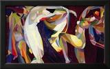 Dances, 1914/15 Framed Giclee Print by Arthur Bowen Davies