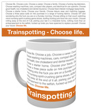 Trainspotting - Quote Mug Taza