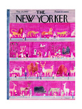 The New Yorker Cover - May 20, 1961 Giclee Print by Anatol Kovarsky
