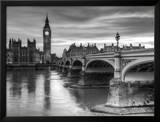 The House of Parliament and Westminster Bridge Posters by Grant Rooney