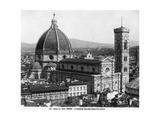 Santa Maria del Fiore in Florenz, 1932 Photographic Print by Scherl Süddeutsche Zeitung Photo