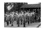 """Schüler der """"Stowey House London County Council School"""" in London bei der Gymnastik, 1938 Impressão fotográfica por  Süddeutsche Zeitung Photo"""