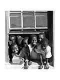 Zulukinder in Südafrika, 1938 Reproduction photographique par  Süddeutsche Zeitung Photo