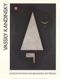 White Sharpness Prints by Wassily Kandinsky