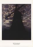 Windmill at Night Reproduction pour collectionneur par Piet Mondrian