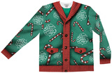 Long Sleeve: Lick My Candy Cane Xmas Sweater Tee Lange ærmer