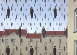Golconde Posters par Rene Magritte