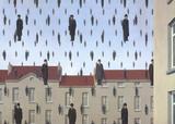 Golconde Poster von Rene Magritte