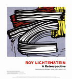 Little Big Painting Pósters por Roy Lichtenstein