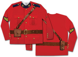 Long Sleeve: Canadian Mountie Tee T-shirt a maniche lunghe
