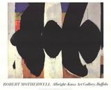 Elegy to the Spanish Republic 34 Impressão colecionável por Robert Motherwell