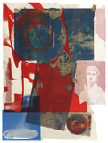 Quarry Collectable Print by Robert Rauschenberg