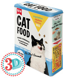 Cat Food - Tin Box Novelty