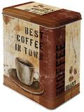 Best Coffee in Town - Tin Box Sjove ting