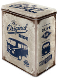 VW Bulli - The Original Ride - Tin Box Novelty