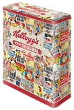 Kellogg's The Original Collage - Tin Box Rariteter