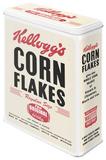Kellogg's Corn Flakes Retro Package - Tin Box Rariteter