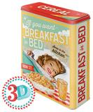 Breakfast in Bed - Tin Box Rariteter