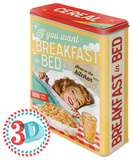 Breakfast in Bed - Tin Box Novelty