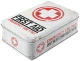 First Aid Kit - Tin Box Rariteter
