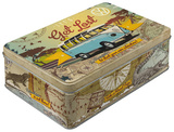 VW Bulli - Let's Get Lost - Tin Box Novelty