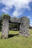 Ha'amonga 'A Maui Arch Reproduction photographique par  benkrut