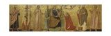 Mystic Marriage of Saint Catherine and Saints, 14th C Posters