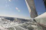 Sailboat on Ocean Foto