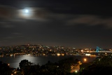 View on the City of Istanbul in Turkey Photo