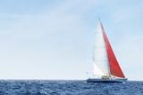 Yacht on Ocean Photo