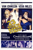 23 Paces to Baker Street,  Van Johnson, Vera Miles, 1956 Poster