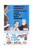 To Trap a Spy, Top from Center: Robert Vaughn, David Mccallum, Bottom Left: Luciana Paluzzi, 1964 Posters