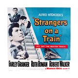 Strangers on a Train, 1951 Posters